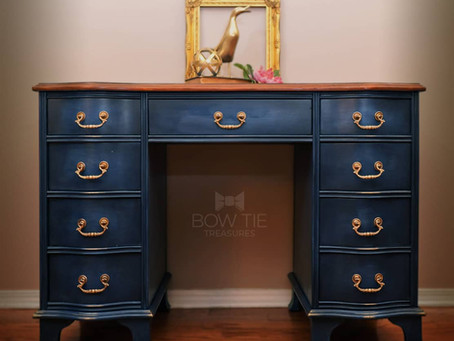 """""""Maxwell""""—Chippendale Desk"""