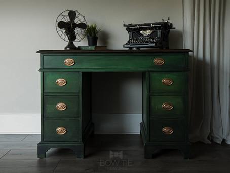 """Maddox""—Antique Desk"