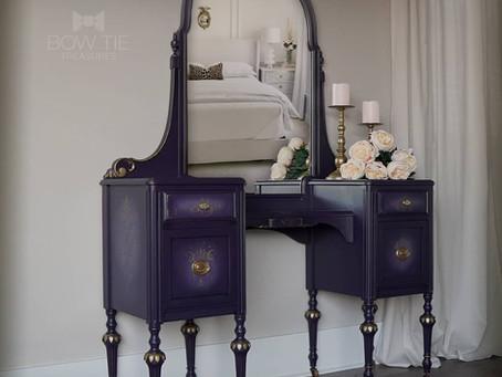 """Ashley""—Antique Vanity Desk"