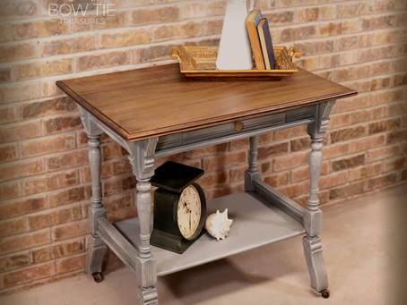 """""""Stover""""—Eastlake occasional table"""