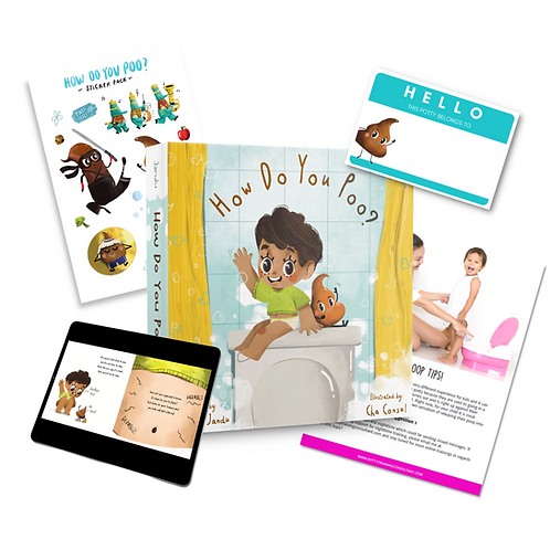 Preorder - How Do You Poo? Potty Pack