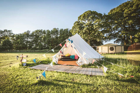 Belle the Bell tent