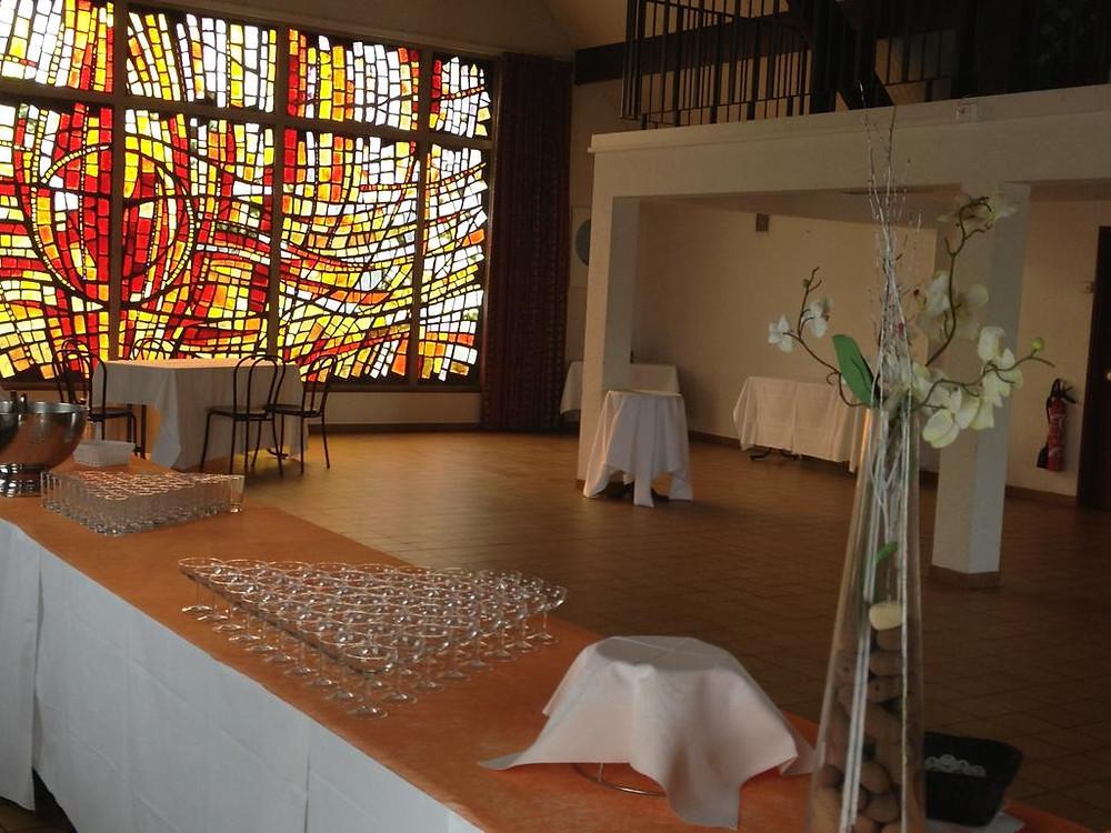 La Chapelle, une salle atypique à l'impressionnant vitrail pour une réception autrement