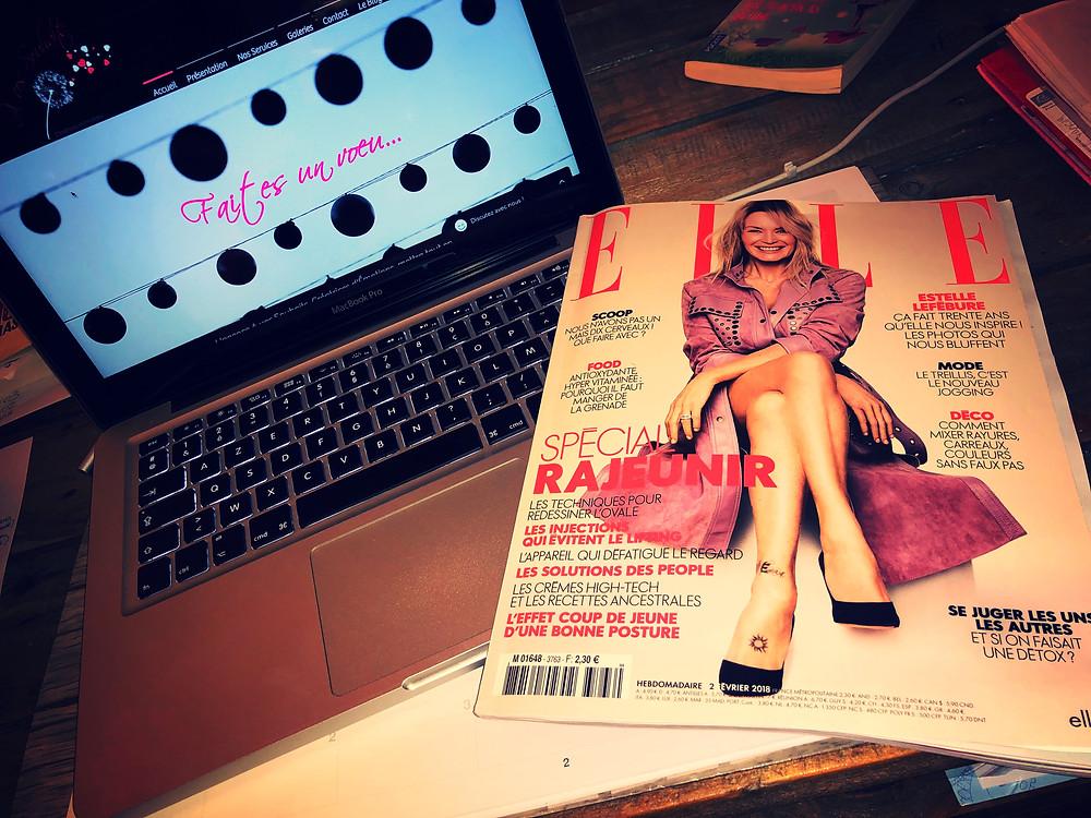 Couverture du Magazine ELLE Normandie du 2 février 2018