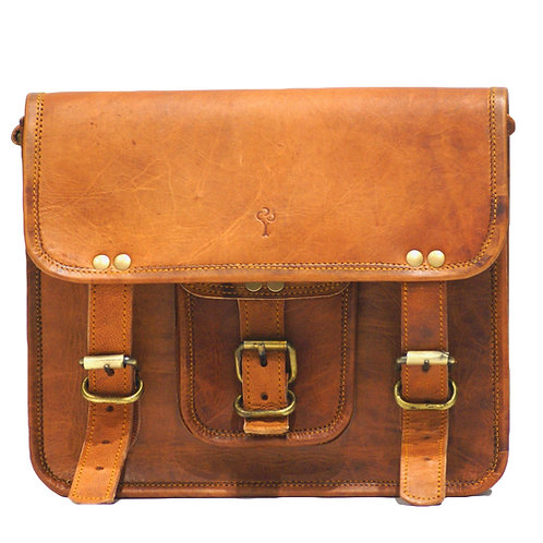 Messenger (Small) in Goat Leather