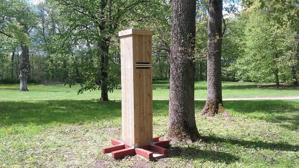 Verkių regioniniame parke pastatytos dirbtinės buveinės - inkilai!