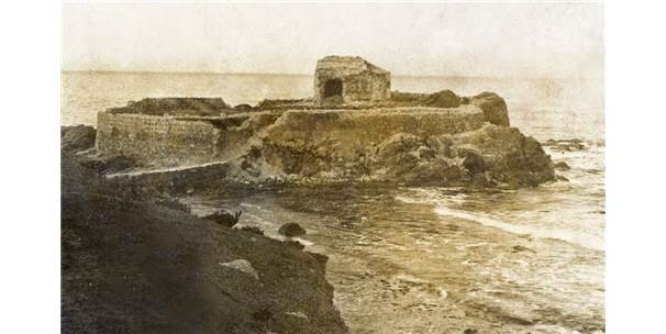 This is a picture of Aya Nikola Church in the early 1900's.