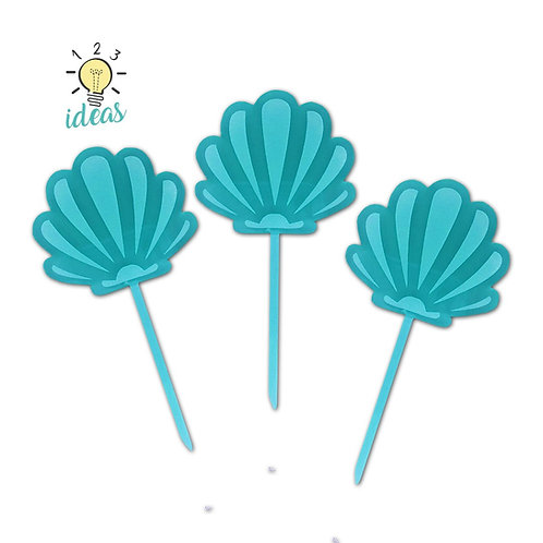 Under the Sea Toppers (set of 12)