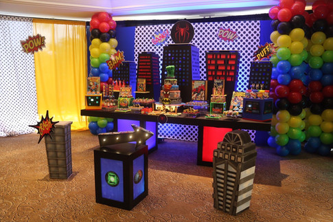 Superhero Party (Inspired by Marvel's Spiderman)