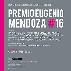 PREMIO EUGENIO MENDOZA #16