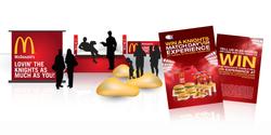 McDonalds Knights Activation