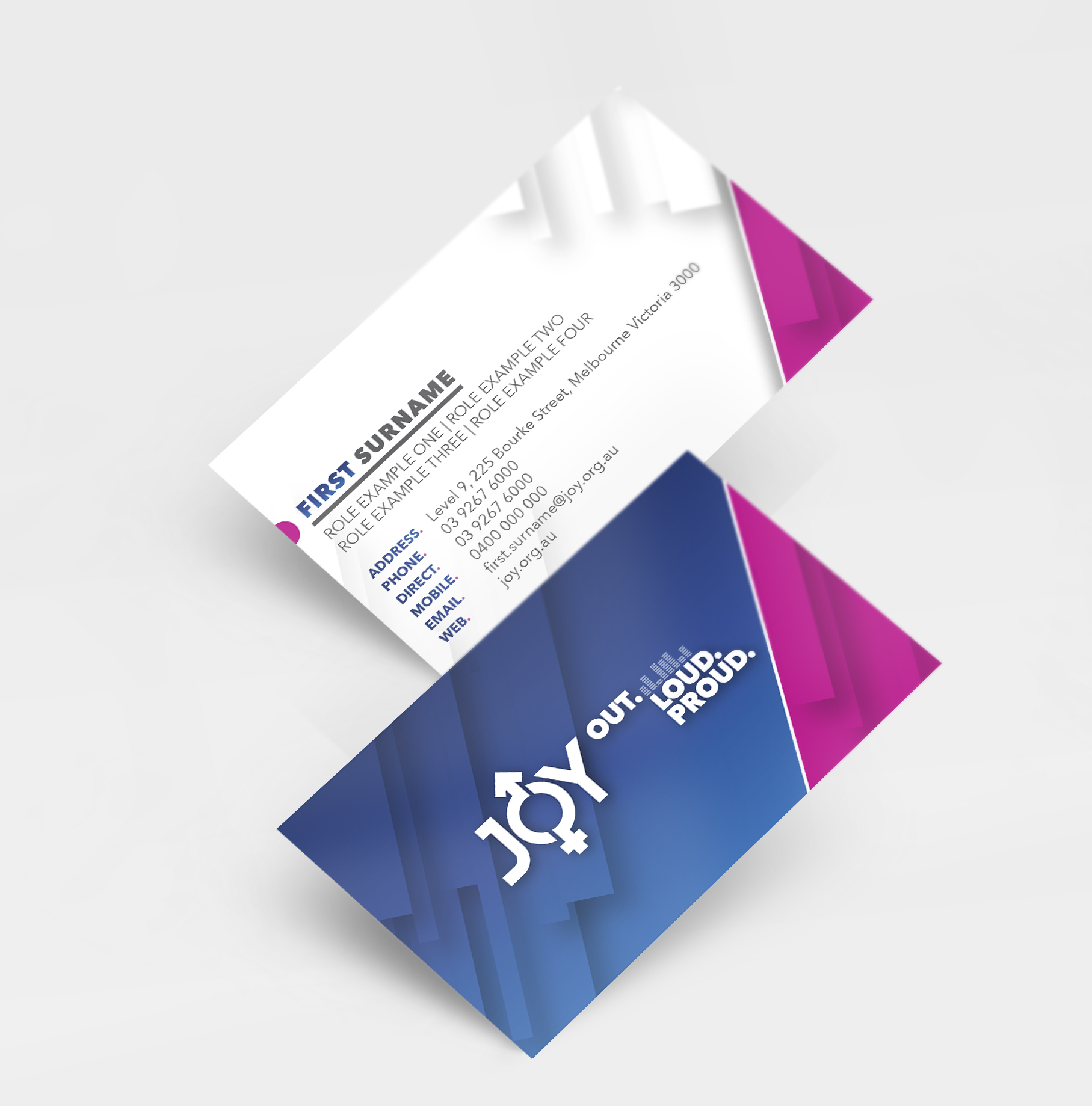JOY 94.9 Business Cards