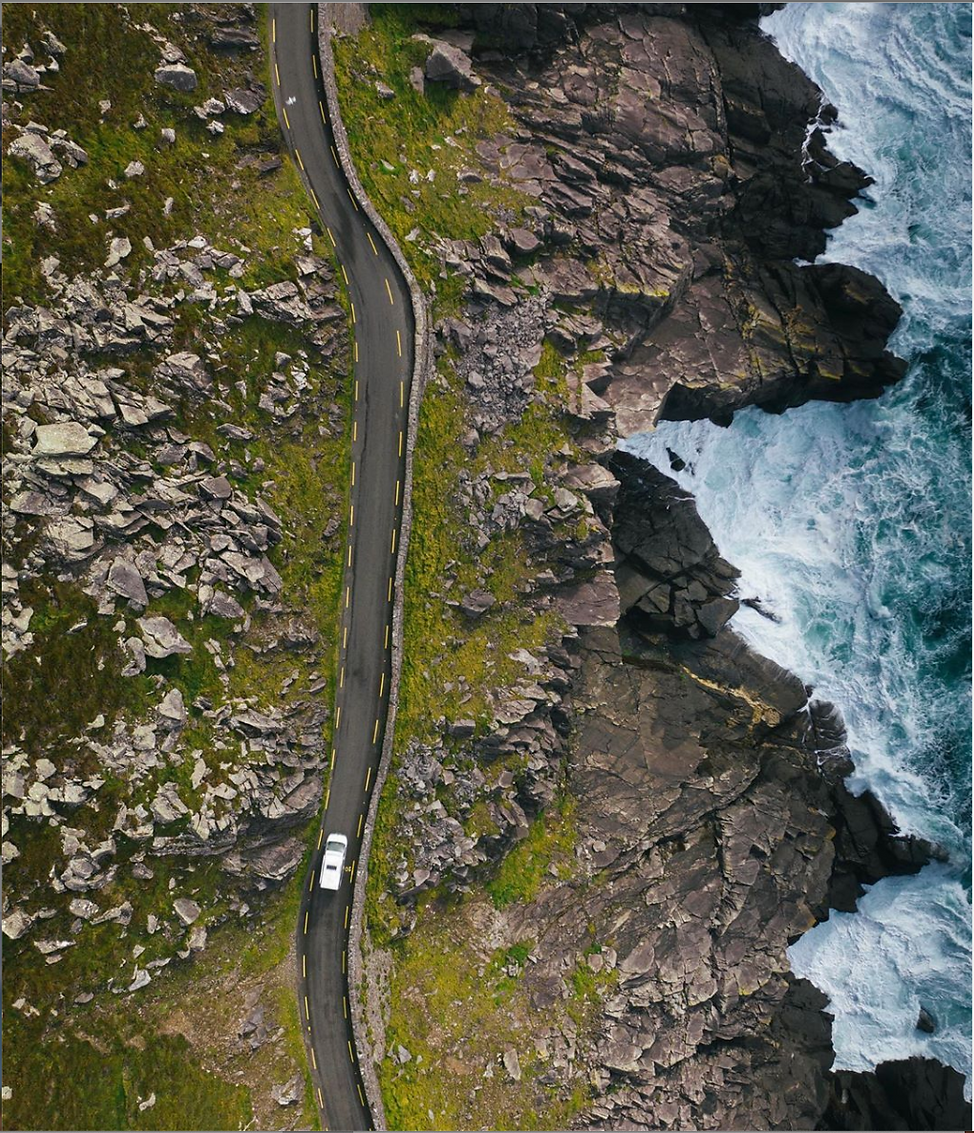 campervan in ireland wild atlantic way.p