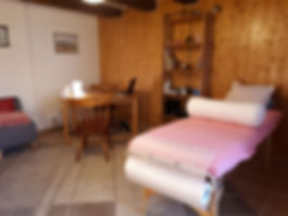 Cabinet de soins par biorésonance à Penthéréaz (VD), vue 2