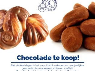 Chocolade te koop!