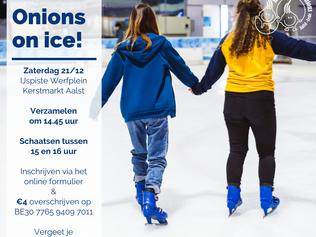 'Onions on ice' op 21 december