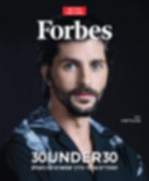 Aviv Grinerg Forbes 30 under 30 אבי גרינברג אמן israeli artist