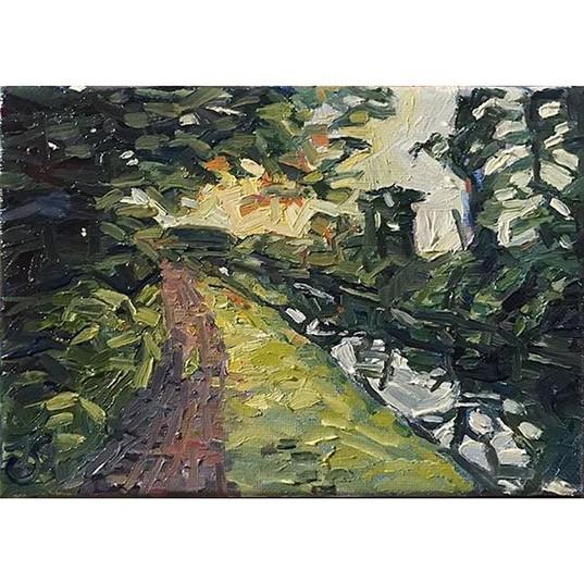 Lambertville Canal, evening