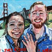 Mina+Jacob Engagement Portrait