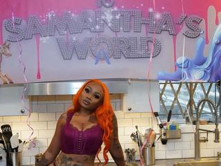 "K Goddess Gets Lusty in ""Samantha's World"""