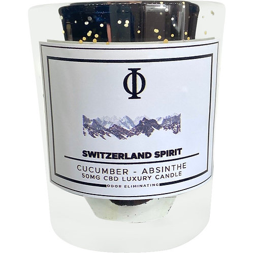 Switzerland Spirit CBD Candle