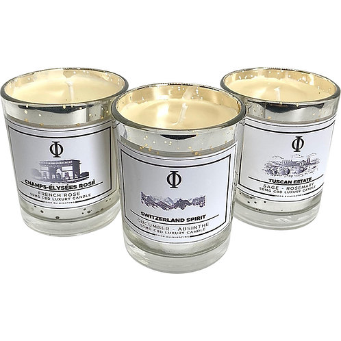 European Tour Candle Set