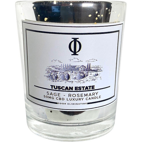 Tuscan Estate CBD Candle