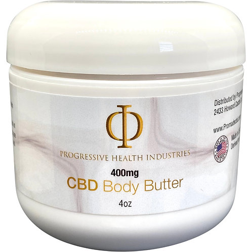 400mg Body Butter