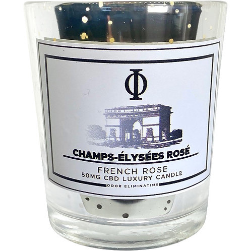Champs Élysée Rosé CBD Candle