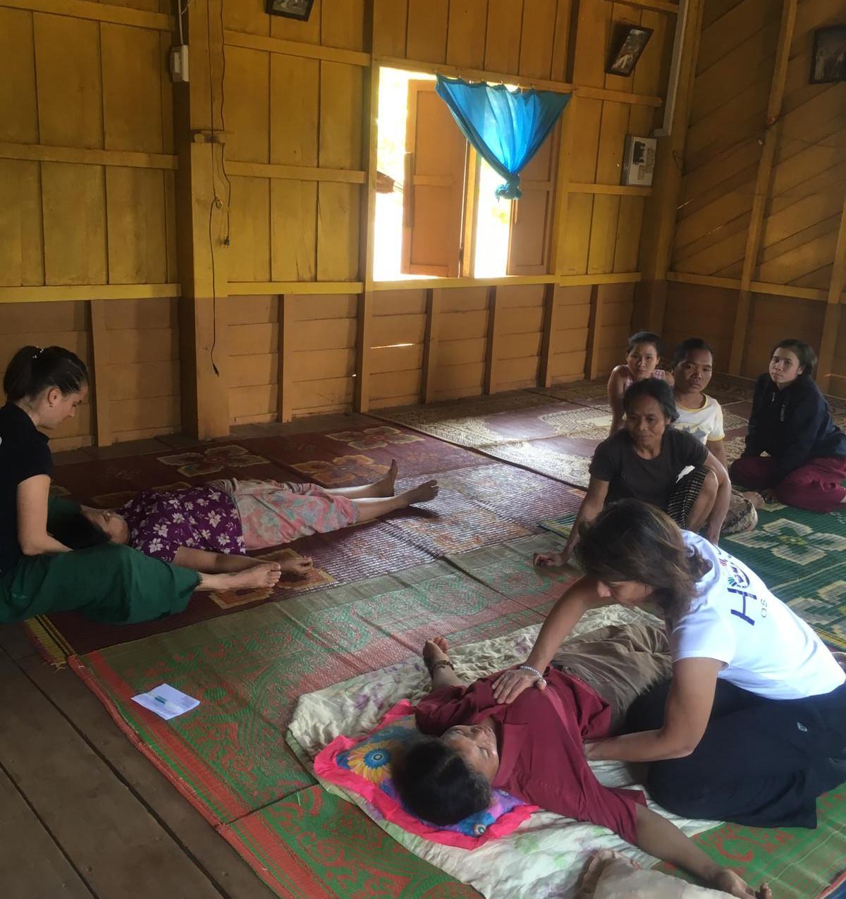 Consultation au village du Km 17