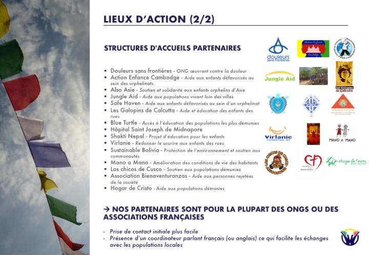 Lieux d'action 2/2