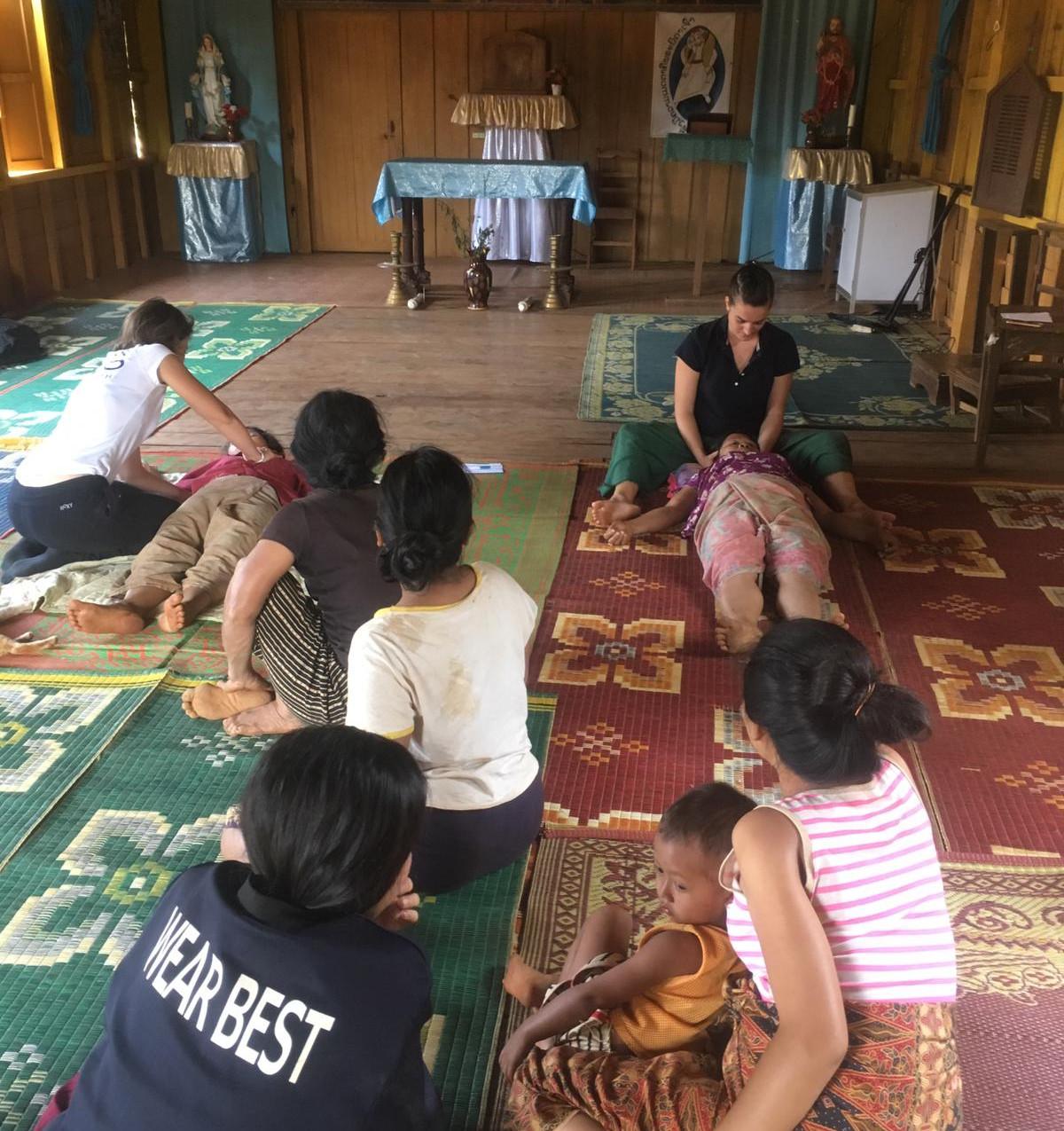 Consultation dans un temple