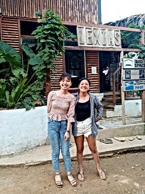 Lexias hostel el nido friends from China