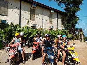 Lexias hostel el nido motorcycle gang