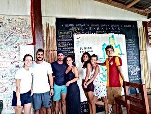 Lexias hostel el nido friendship forever