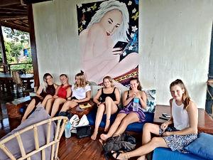 Lexias hostel el nido all friends together