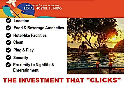 Lexias hostel el nido complete facilities