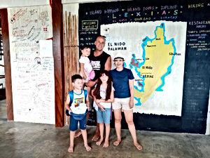 Lexias hostel el nido family together