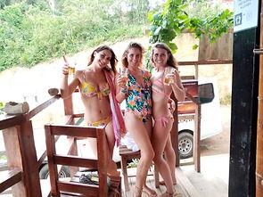Lexias hostel el nido morning tequila