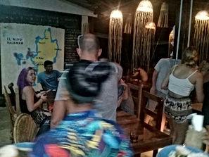 Lexias hostel el nido bar