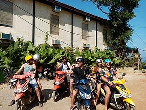 Lexias hostel el nido angeks on motor bikes