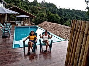 Lexias hostel el nido peace at swimming pool