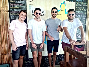 Lexias hostel el nido boys together