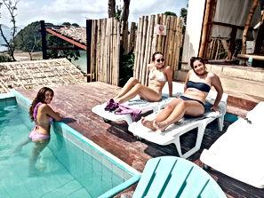 Lexias hostel el nido swimming pool friendship