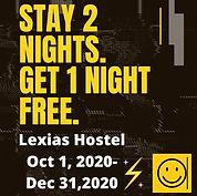 lexias hostel el nido stay 2 night get 1