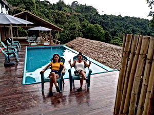 lexias hostel el nido swimming pool
