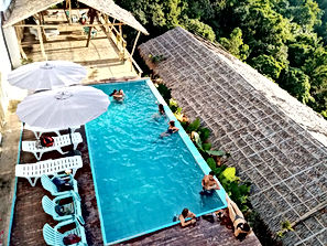 Lexias hostel el nido relax in the sun swiming pool