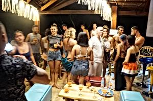 Lexias hostel el nido welcome party
