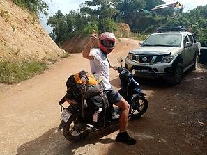 Lexias hostel el nido solo motorcycle