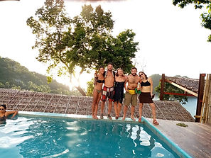 Lexias hostel el nido swimming pool fun